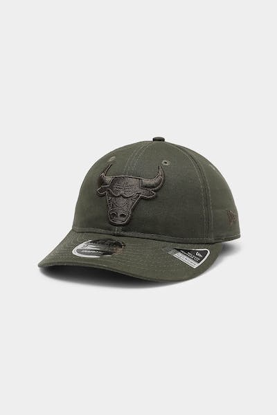 New Era Chicago Bulls 9FIFTY Heritage Snapback Olive