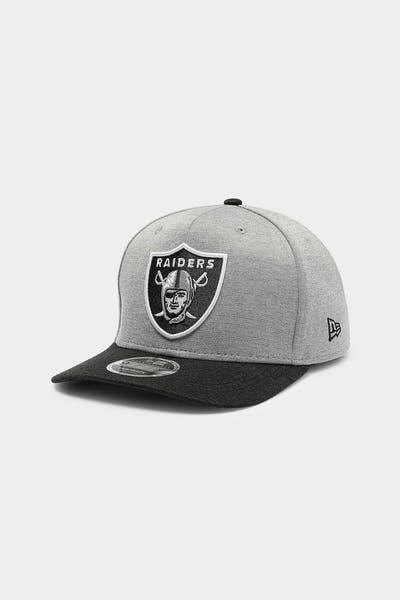 New Era Raiders 9FIFTY Precurved Snapback Team Shadow Tech