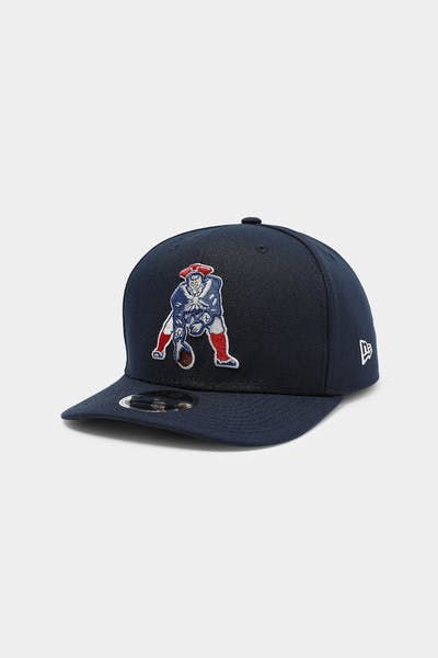 New Era New Englands Patriots 9FIFTY Precurved Snapback Ocean Side Blue