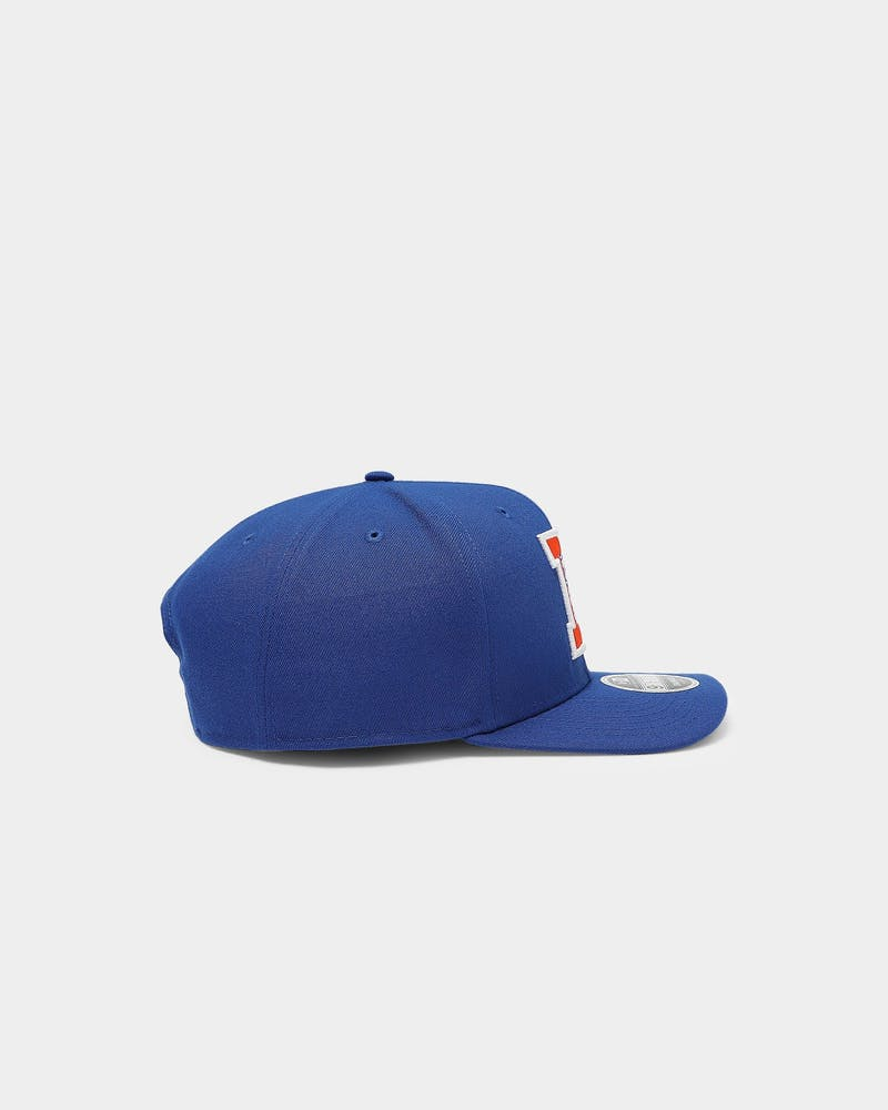 New Era Denver Broncos 9FIFTY Precurved Snapback Majestic Blue