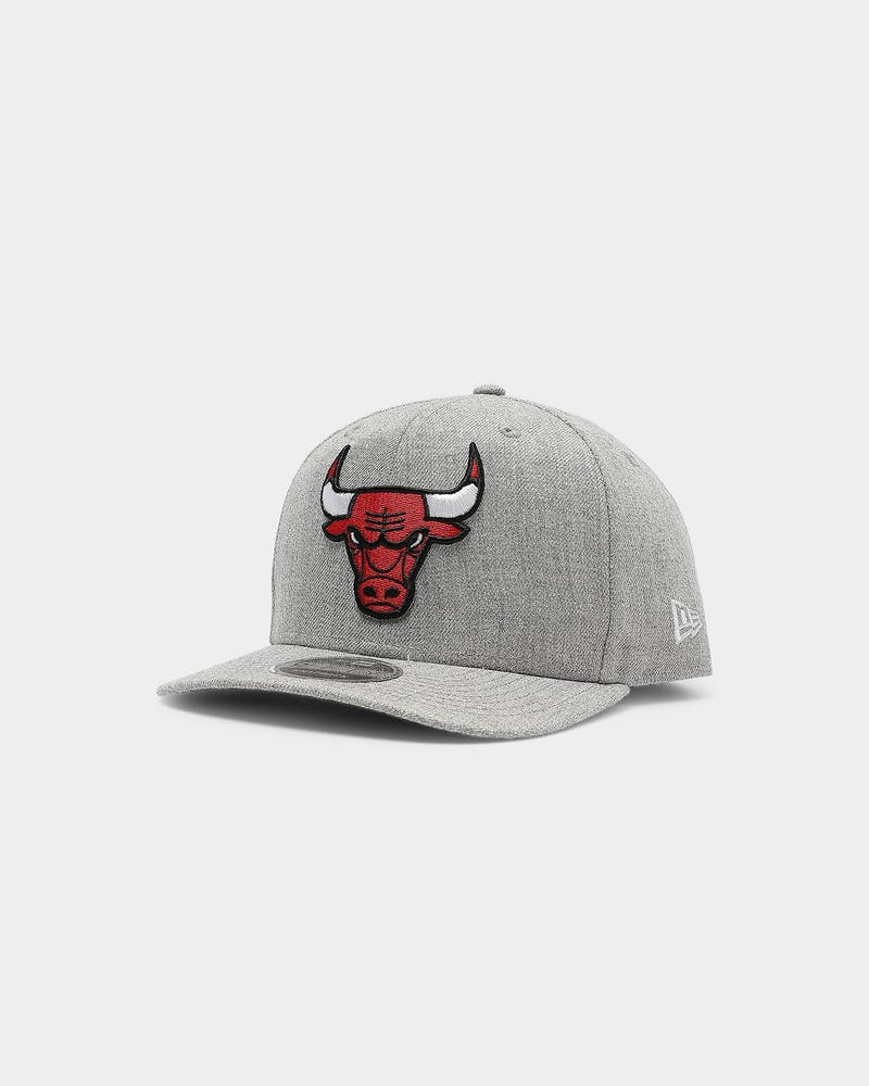 New Era Chicago Bulls 9FIFTY Snapback Heather Grey