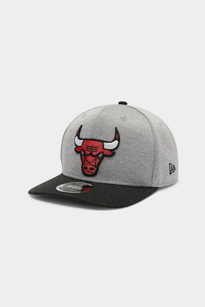 New Era Chicago Bulls 9FIFTY Precurved Snapback Team Shadow Tech