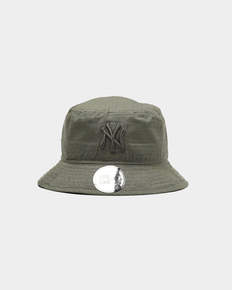 New Era New York Yankees Ripstop Bucket Olive