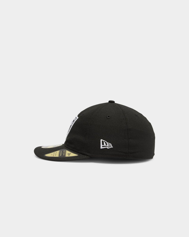 NEW ERA OAKLAND RAIDERS 59FIFTY RETRO CROWN FITTED BLACK