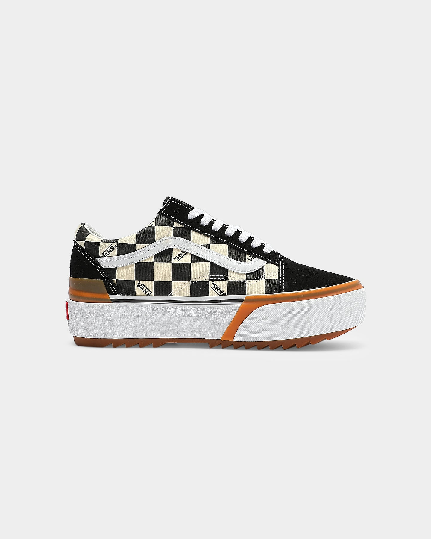 Vans Women's Old Skool Stacked BlackWhite