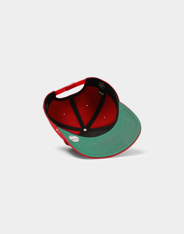 ever popular competitive price look out for 47 Brand Los Angeles Angels Cold Zone MVP DP Snapback Red ...