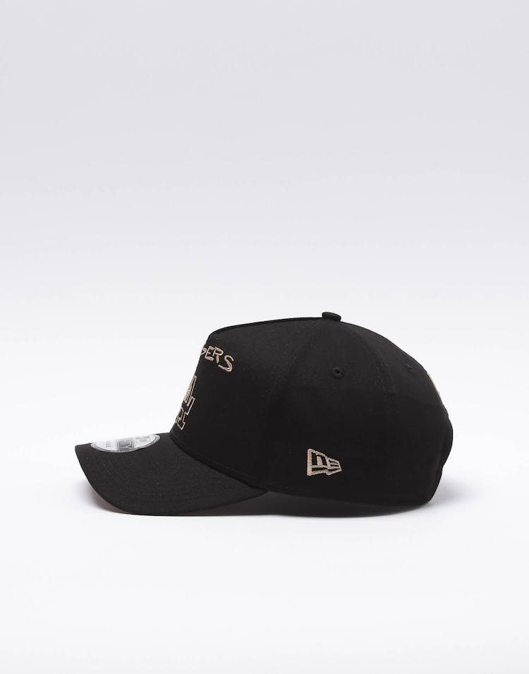 New Era Los Angeles Dodgers Scribble 9FORTY A-Frame Snapback Black/Wheat