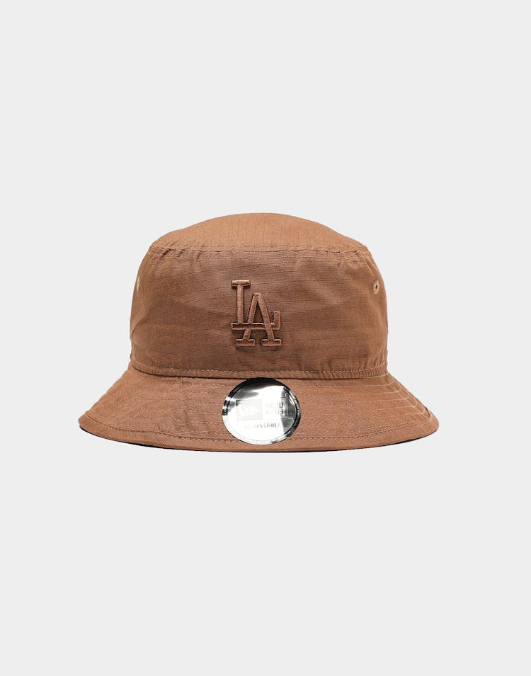 New Era Los Angeles Dodgers Ripstop Bucket Wheat