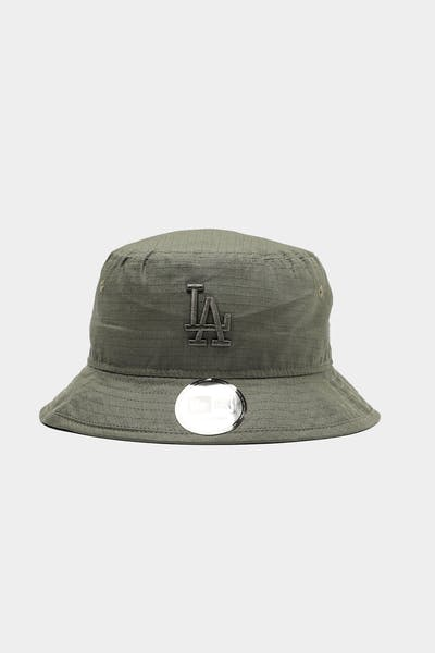 New Era Los Angeles Dodgers Ripstop Bucket Olive