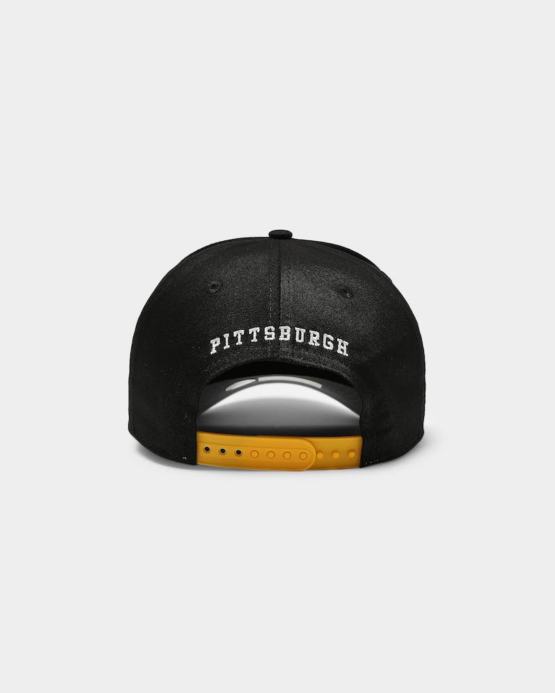 New Era Pittsburgh Pirates Varsity 9FORTY K-Frame Snapback Black