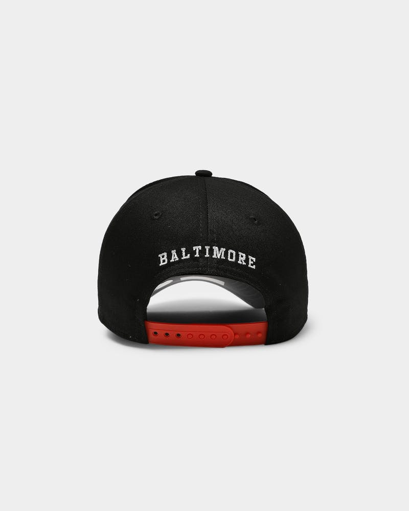 New Era Baltimore Orioles Varsity 9FORTY K-Frame Snapback Black