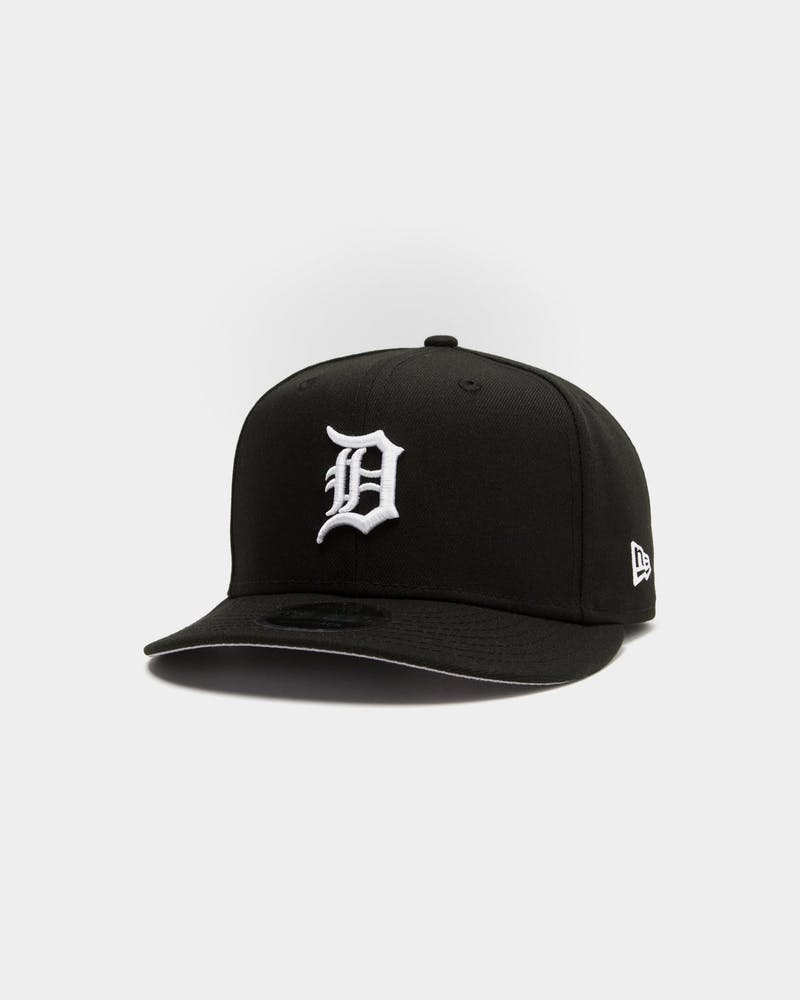 New Era Detroit Tigers 9FIFTY Retro High Crown Precurved Snapback Black