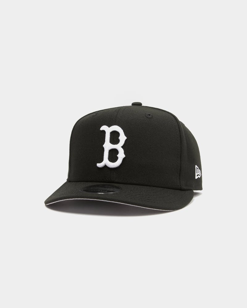 New Era Boston Red Sox 9FIFTY Retro High Crown Precurved Snapback Black