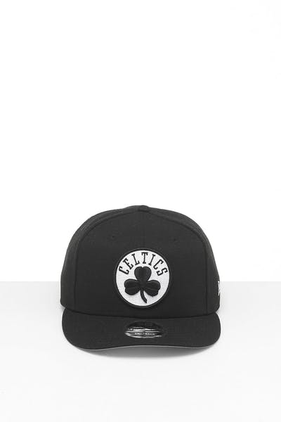 New Era Boston Celtics 9FIFTY Retro High Crown Precurved Snapback Black