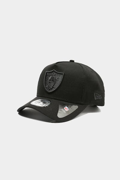 New Era Raiders 9FORTY K-Frame XL Snapback Black/Black