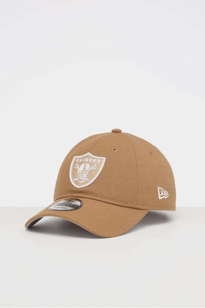 NEW ERA OAKLAND RAIDERS 9TWENTY STRAPBACK WHEAT/WHITE