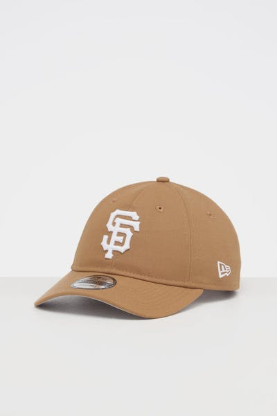 NEW ERA SAN FRANCISCO GIANTS 9TWENTY STRAPBACK WHEAT/WHITE