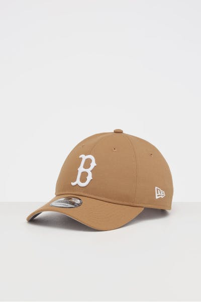 NEW ERA BOSTON RED SOX 9TWENTY STRAPBACK WHEAT/WHITE