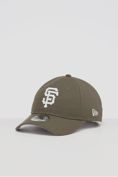 NEW ERA SAN FRANCISCO GIANTS 9TWENTY STRAPBACK OLIVE/WHITE