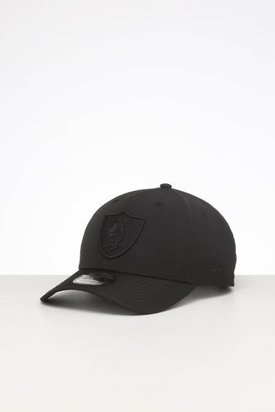 New Era Raiders 9FORTY Nylon Snapback Black/Black