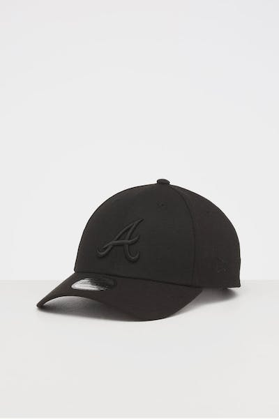 NEW ERA ATLANTA BRAVES 9FORTY SNAPBACK BLACK/BLACK