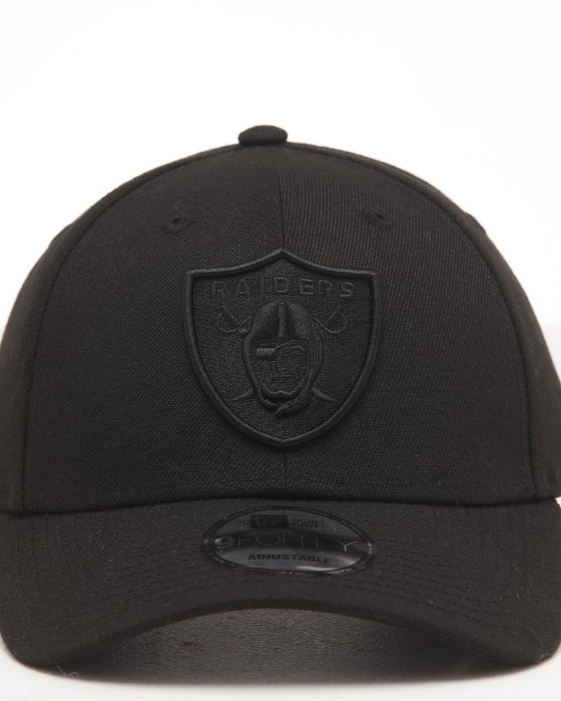 NEW ERA OAKLAND RAIDERS 9FORTY SNAPBACK BLACK/BLACK