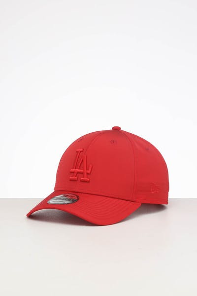 New Era Los Angeles Dodgers 9FORTY Nylon Snapback Scarlet