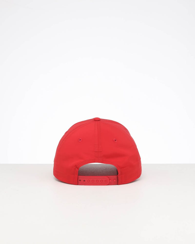New Era New York Yankees 9FORTY Nylon Snapback Scarlet