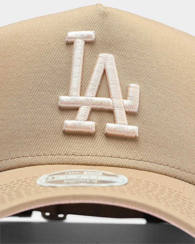 New Era Women's Los Angeles Dodgers 9FORTY A-Frame Strapback Camel