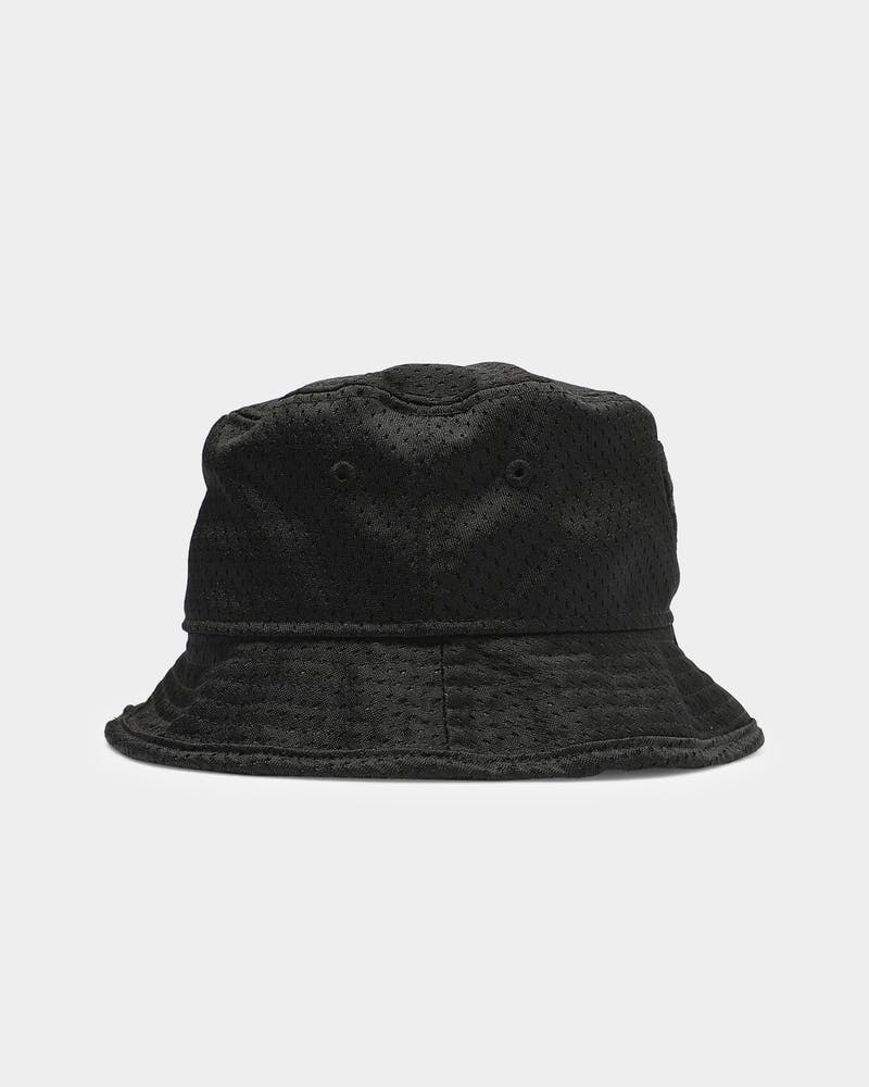 New Era Chicago Bulls Mesh Bucket Black