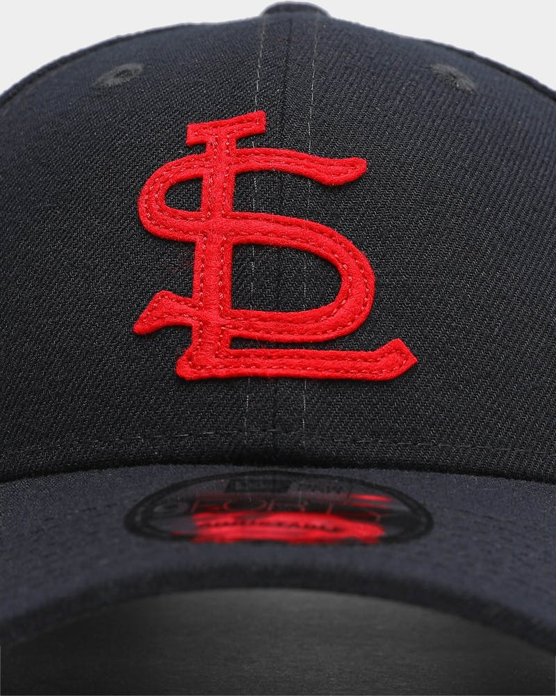 New Era Men's St. Louis Cardinals Coop 9FORTY MLB Strapback Navy