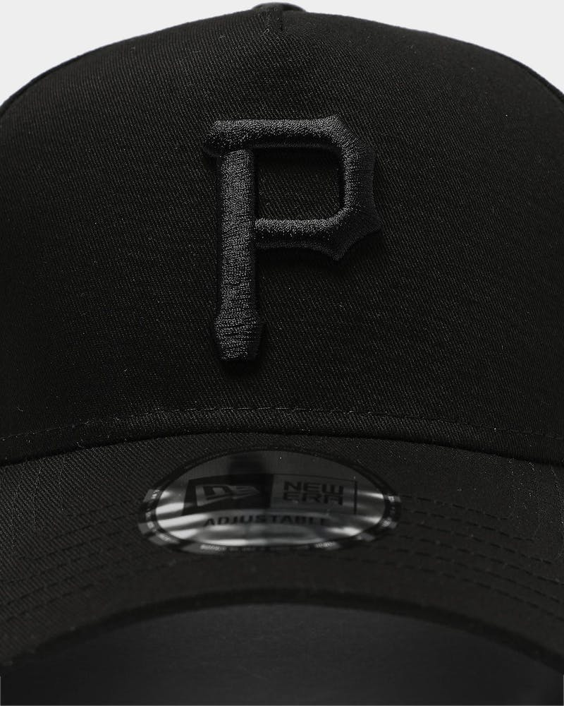 New Era Pittsburgh Pirates 9FORTY K-Frame Snapback Black/Black