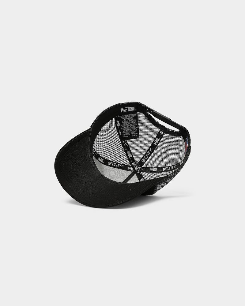 New Era San Francisco Giants 9FORTY A-Frame Trucker Black/Black