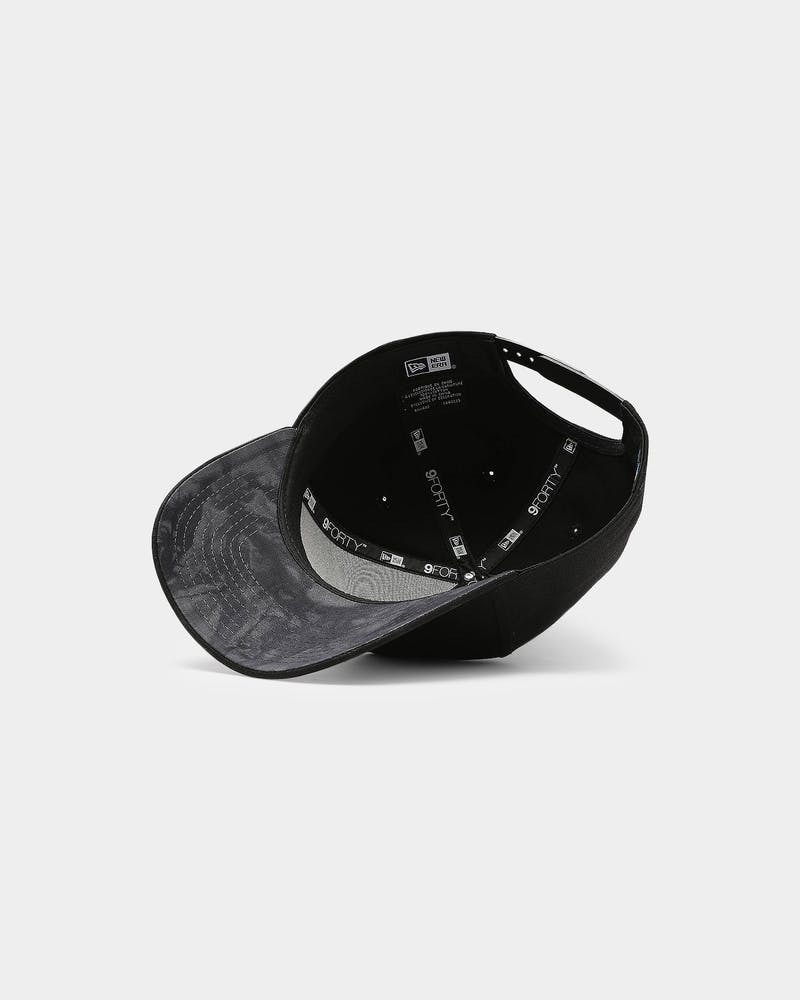 New Era Raiders 9FORTY A-Frame Snapback Black/Black/Tie Dye