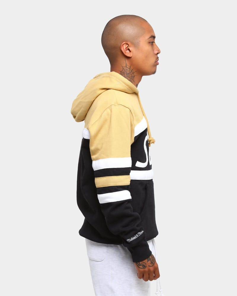 Mitchell & Ness Men's New Orleans Saints Head Coach Hoodie Black/Gold