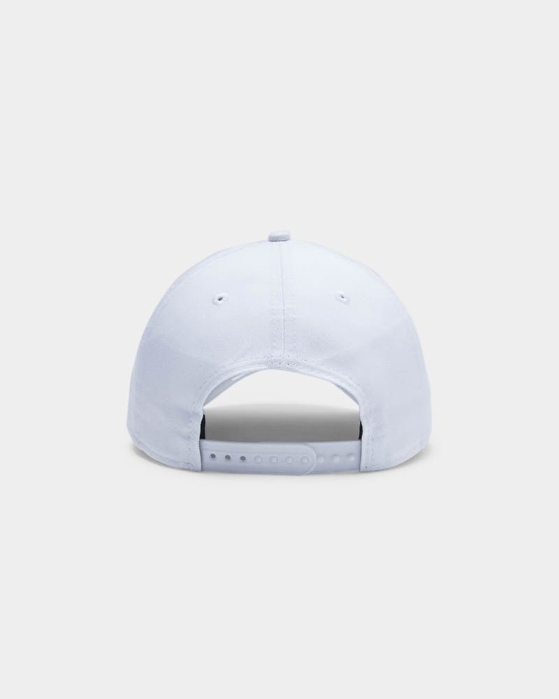 New Era Men's Los Angeles Clippers Emboss 9FORTY A-Frame NBA Snapback White