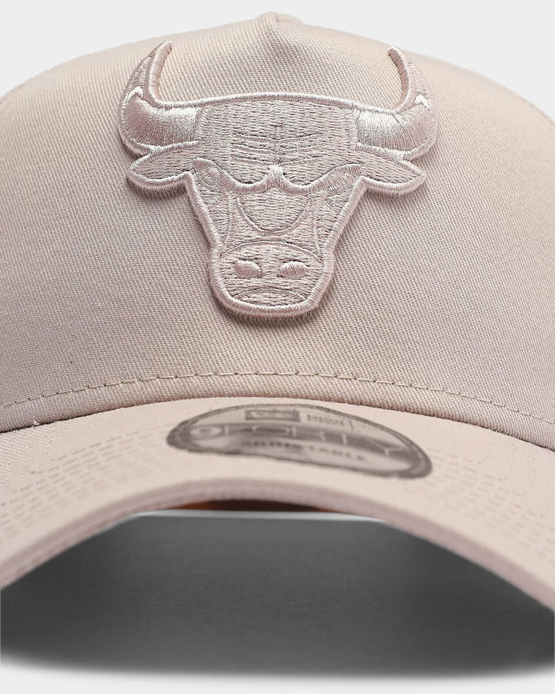New Era Chicago Bulls Tonal 9FORTY A-Frame Snapback Stone Rose