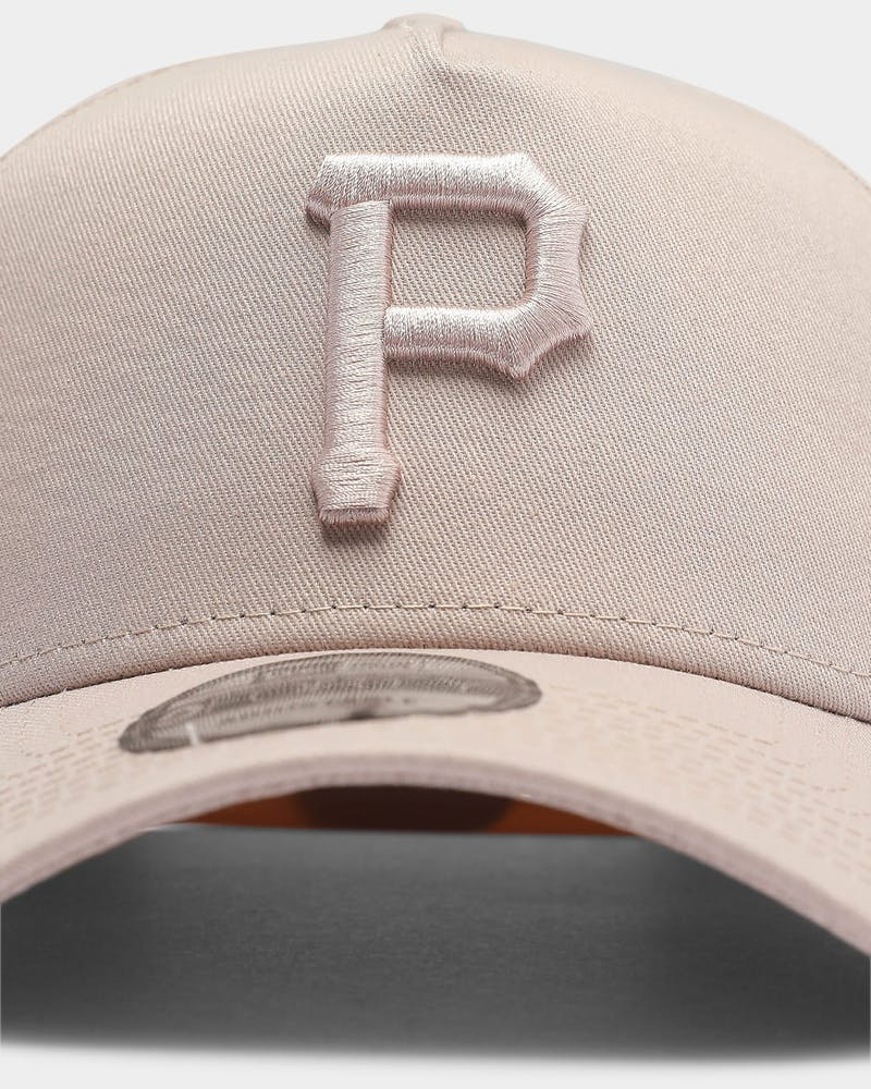 New Era Pittsburgh Pirates Tonal 9FORTY A-Frame Snapback Stone Rose
