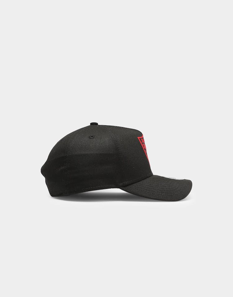 New Era Raiders Applique 9FORTY A-Frame Snapback Black/Red Tarta