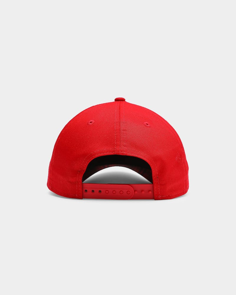 New Era Boston Red Sox Applique 9FORTY A-Frame Snapback Scarlet/Red Tarta