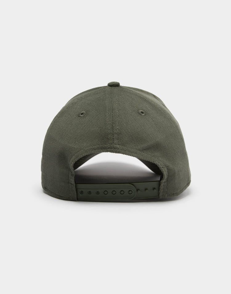 New Era Men's Raiders Cord 9FORTY A-Frame Snapback Forest Green