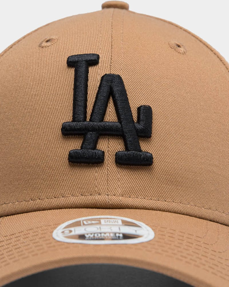 New Era Women's Los Angeles Dodgers 9FORTY MLB Strapback Wheat/Black