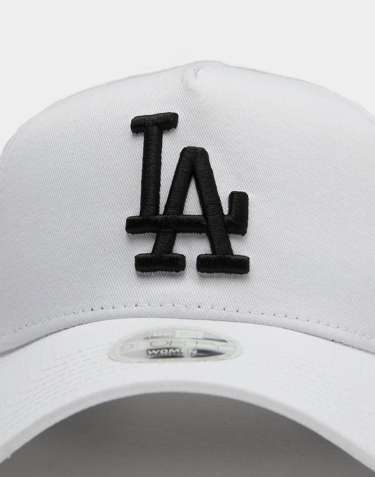 New Era Women's Los Angeles Dodgers 9FORTY A-Frame Snapback White/Black