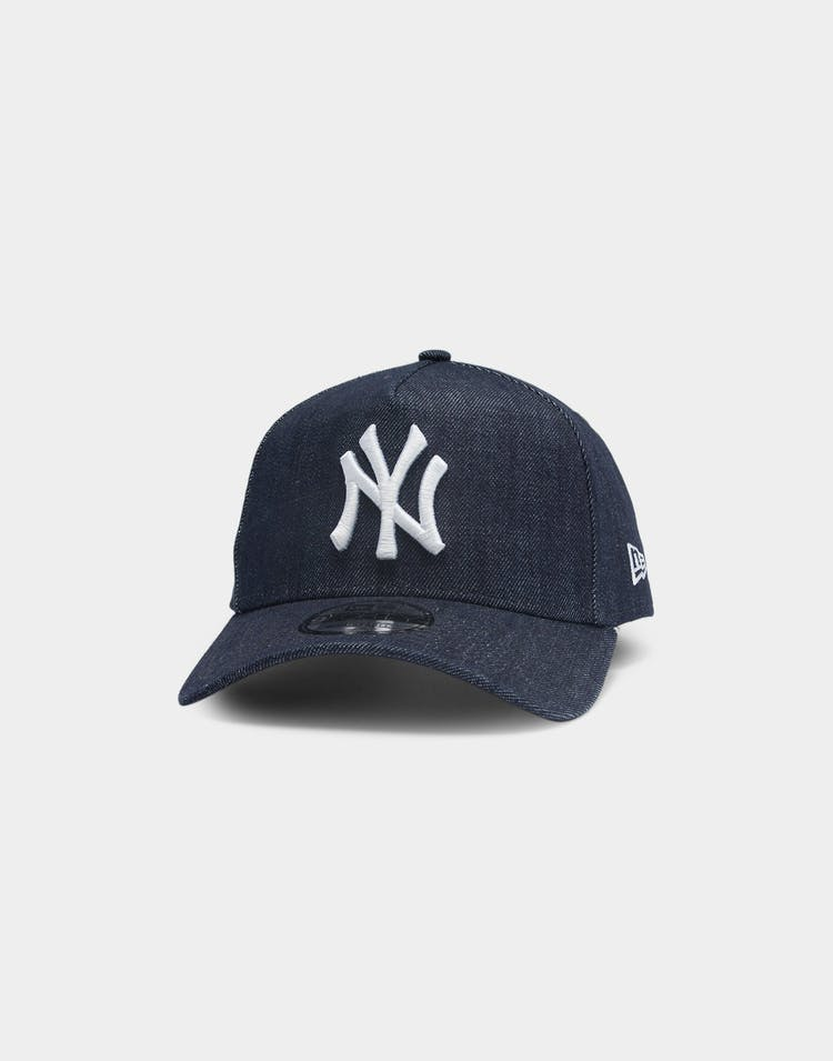 New Era New York Yankees Denim 9FORTY A-Frame Snapback Navy/White