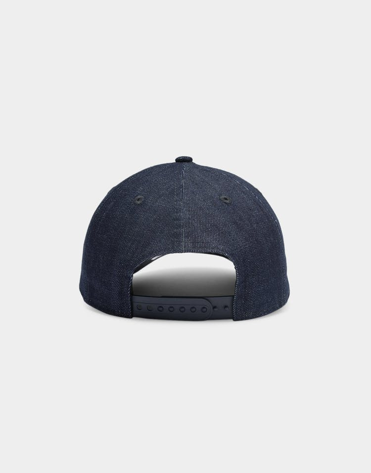 New Era Los Angeles Dodgers Denim 9FORTY A-Frame Snapback Navy/White