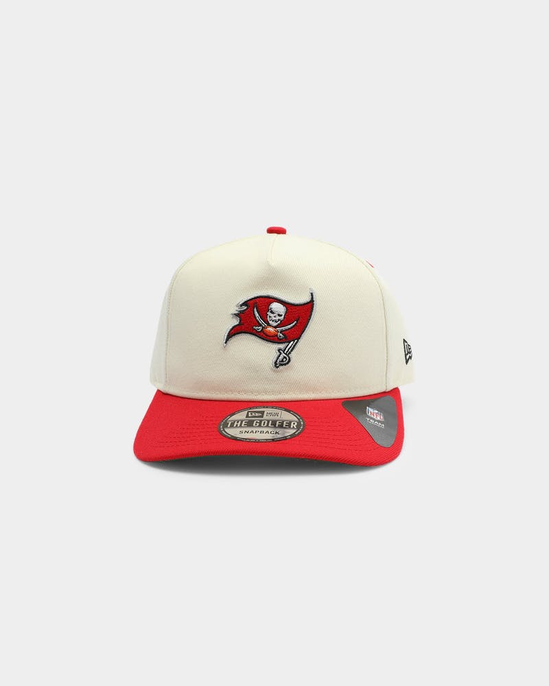 New Era Tampa Bay Buccaneers Old Golfer Snapback Off White