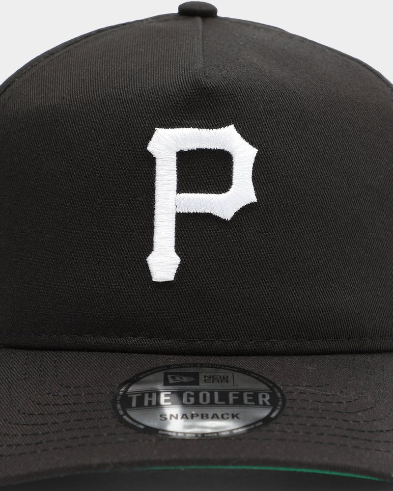 New Era Men's Pittsburgh Pirates Old Golfer Snapback Black/White