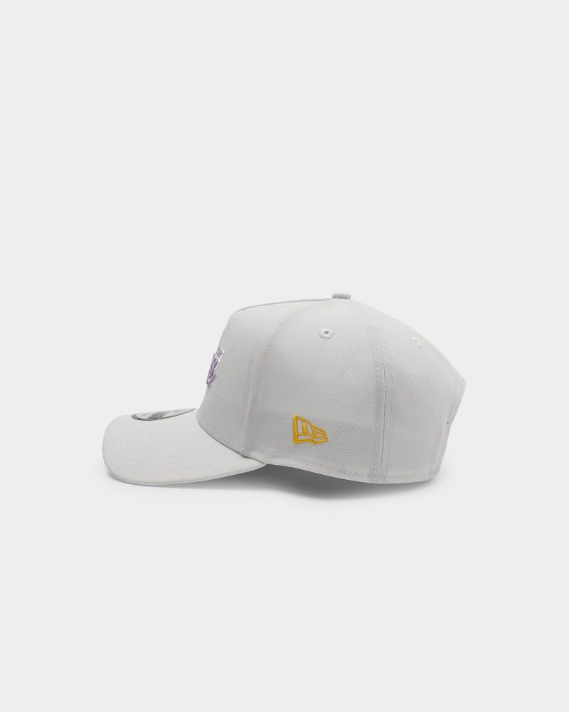 New Era Los Angeles Lakers UV Activation V2 9FORTY A-Frame Snapback White