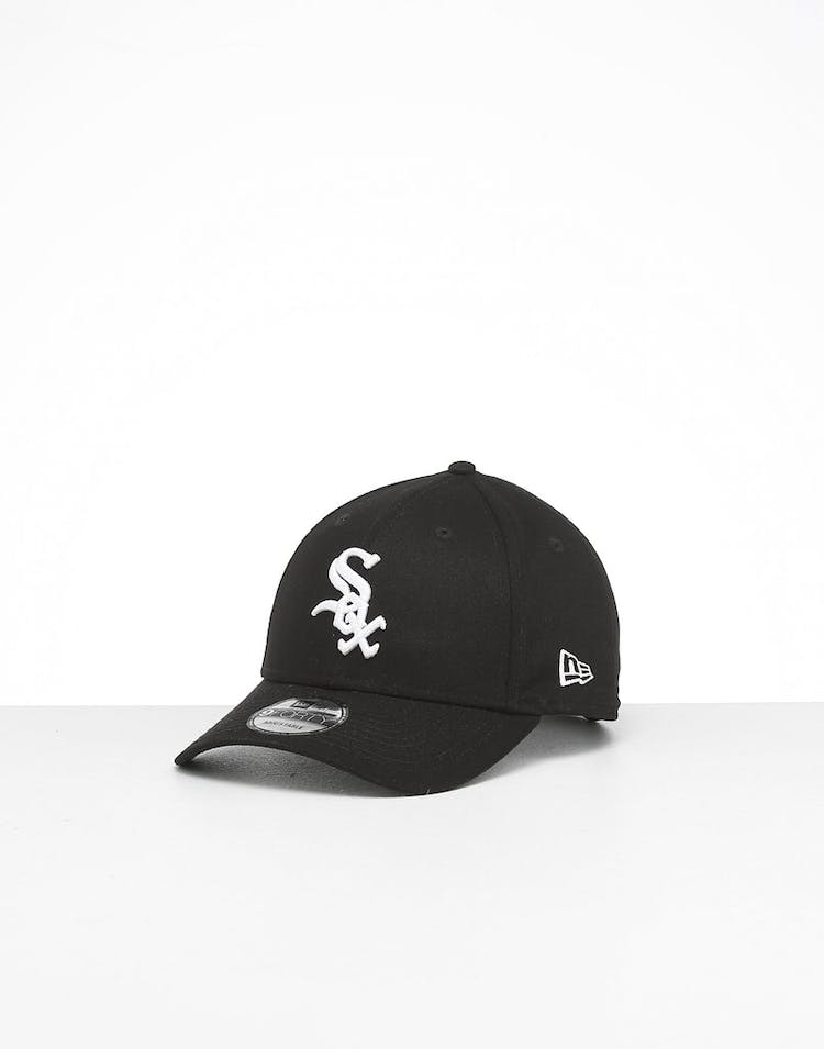 04d539d02 New Era White Sox 9FORTY Strapback Black/White – Culture Kings
