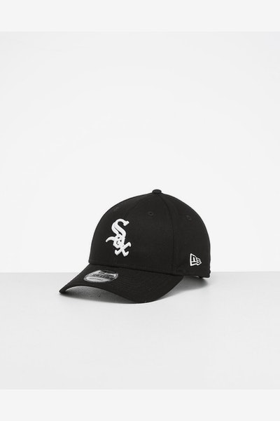 New Era White Sox 9FORTY Strapback Black/White